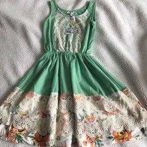 "Matilda Jane ""clubhouse dreams dress"" 10"